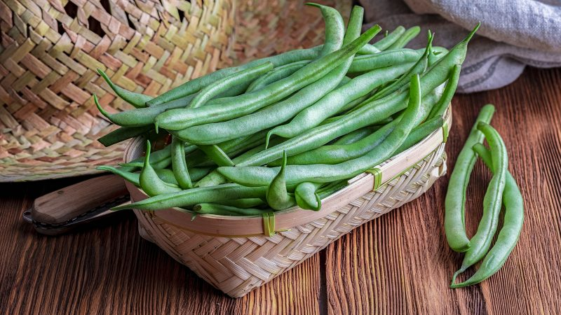 Beans (the green kind!) Roasted with Ginger and Soy Sauce