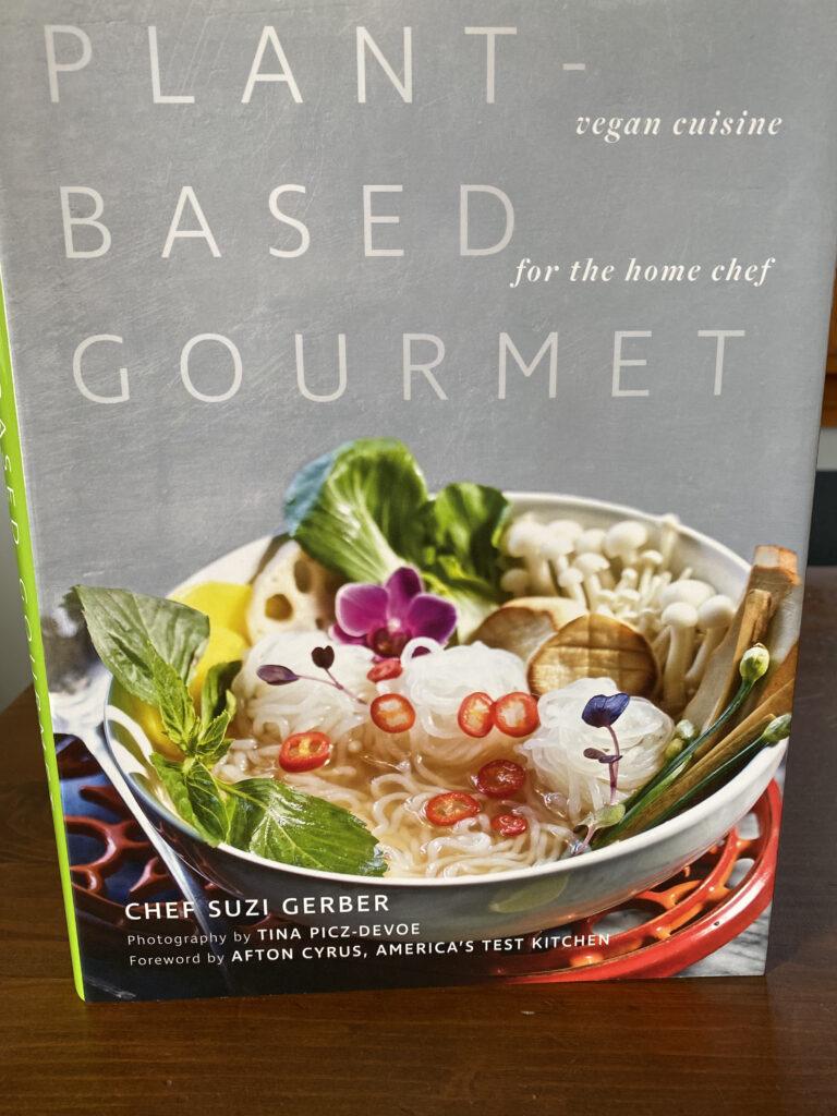 Cover art for Plant-Based Gourmet cookbook